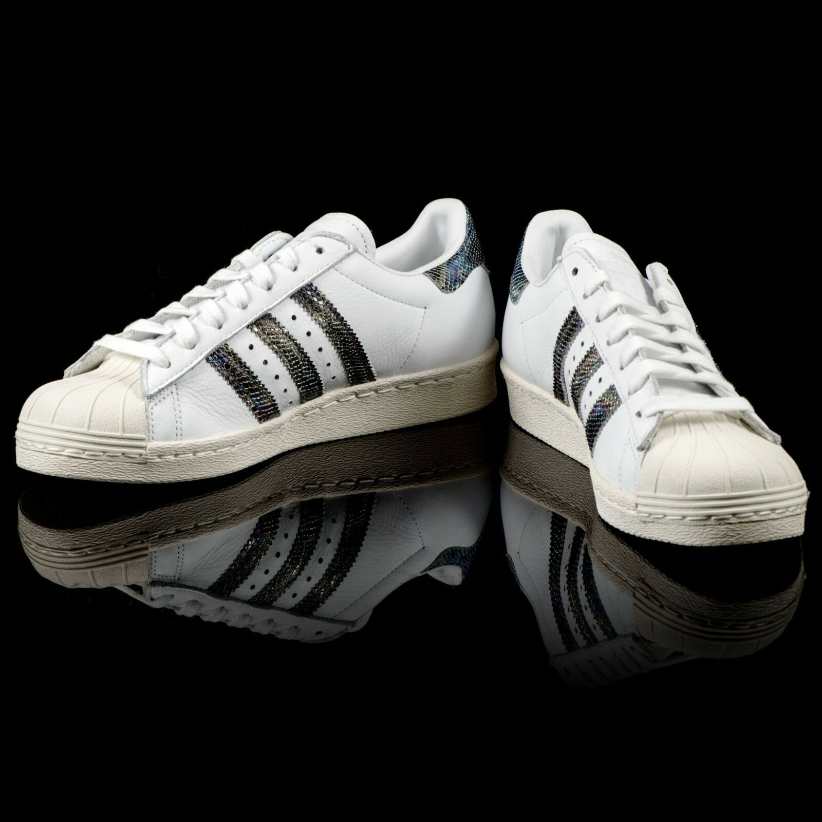 meet ba9a0 798ef Adidas Originals Uomo Superstar Superstar Superstar 80 s Snakeskin scarpe  da ginnastica scarpe Trainers Dimensione 13 dfccb9