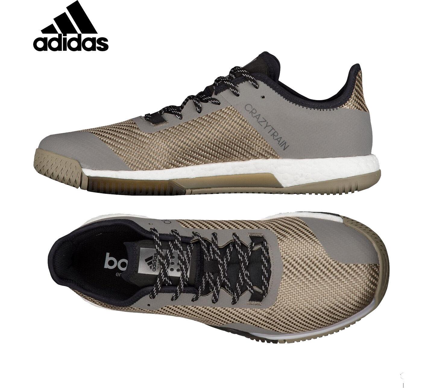 new arrivals 054bc 2e8a3 Uomo adidas crazytrain elite sociale scarpe scarpe sociale nuove scarpe da  ginnastica verde nero