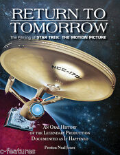 RETURN TO TOMORROW Making Of Star Trek: The Motion Picture BOOK Preston N. Jones