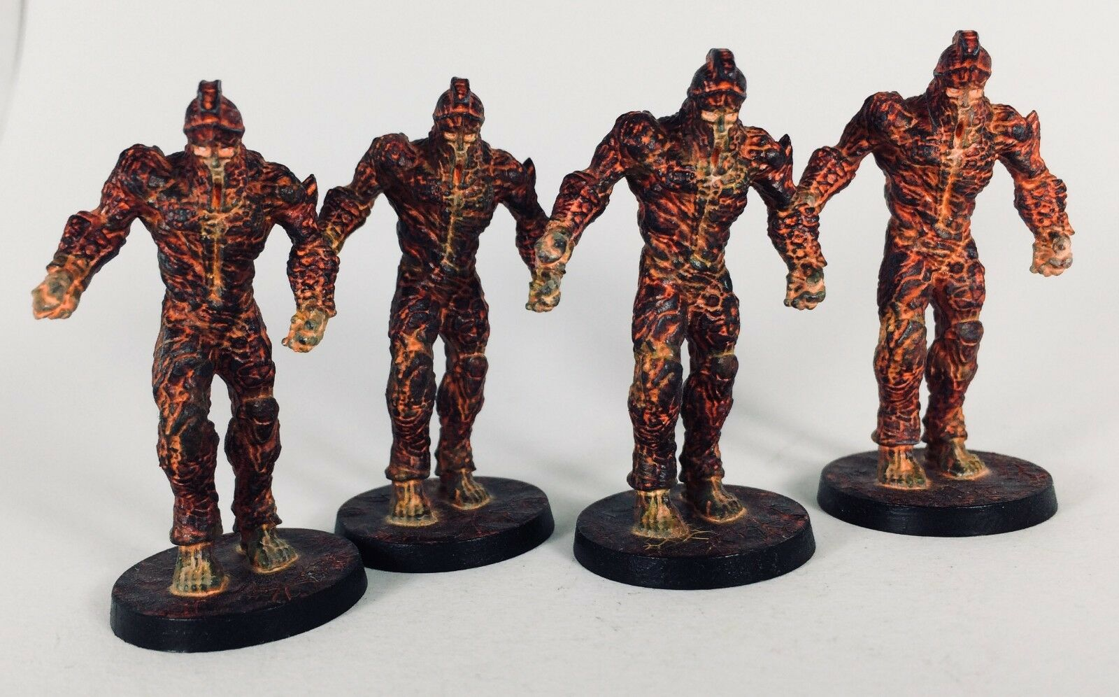 Lava golems x4 avec cartes Mythic Battles  Panthéon-KS Exclusive-pro-painted