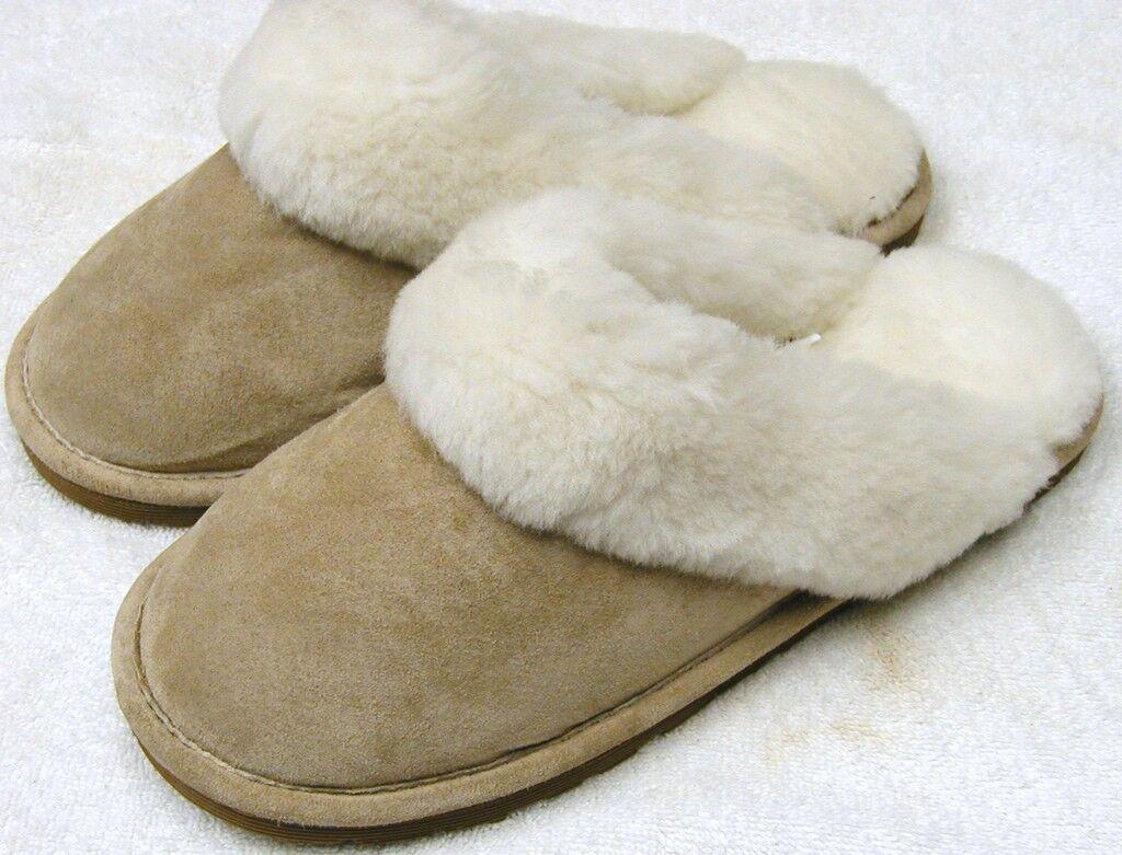 Las Las Las mujeres de piel de oveja rozaduras Slipper Zapato diapositiva 5 6 7 8 9 10  Ven a elegir tu propio estilo deportivo.