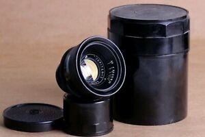 Objektiv-Jupiter-12-35mm-f2-8-m39-Halterung-fuer-Leica-FED-Zorki-Sony-schwarz