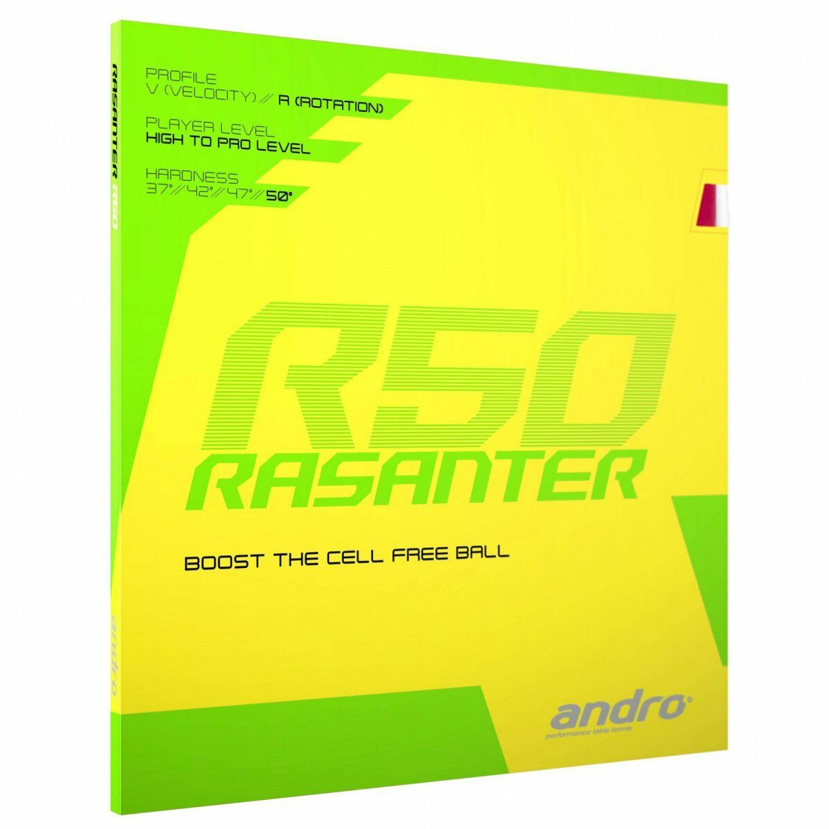 Andro Rasanter R50 schwarz rot  2 0mm ultramax    NEU   OVP 7db4cd
