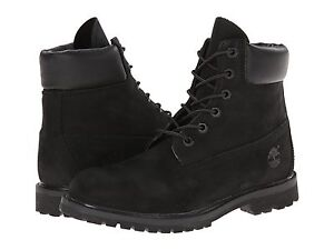 Women s Timberland Classic 6-Inch Premium Waterproof Boot Black ... 2981bc678
