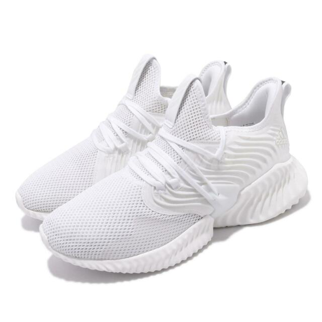adidas AlphaBounce Instinct CC M White Black Men Running Shoes Sneakers D97278