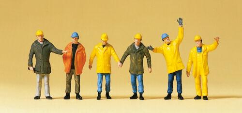 """Preiser 10423 H0 Figuren /""""Arbeiter mit Schutzkleidung/"""" #NEU in OVP#"""