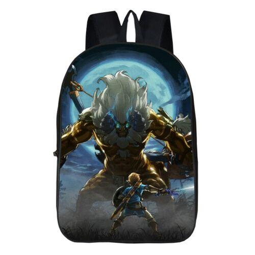 Hot Game The Legend of Zelda 3D Print School Bag Students Backpack Boys Rucksack