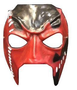 UK KANE FIBREGLASS WWE WWF WRESTLING COSTUME FANCY DRESS UP MASK ADULT CHILD