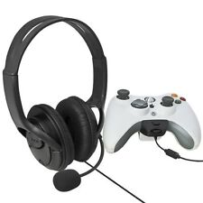 Big Live Headset Headphone With MIC for Microsoft Xbox 360 Controller Gamepad