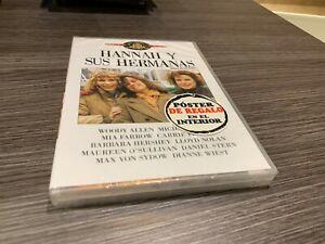 Hannah Y le Sorelle DVD Woody Allen Mia Farrow Dianne Wiest Sigillata Nuovo