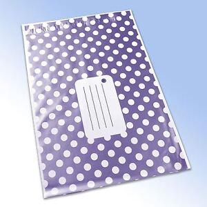 1-Purple-Polka-Dot-Printed-Self-Seal-Plastic-Mailing-Bag-161x240mm-6-5x9-034