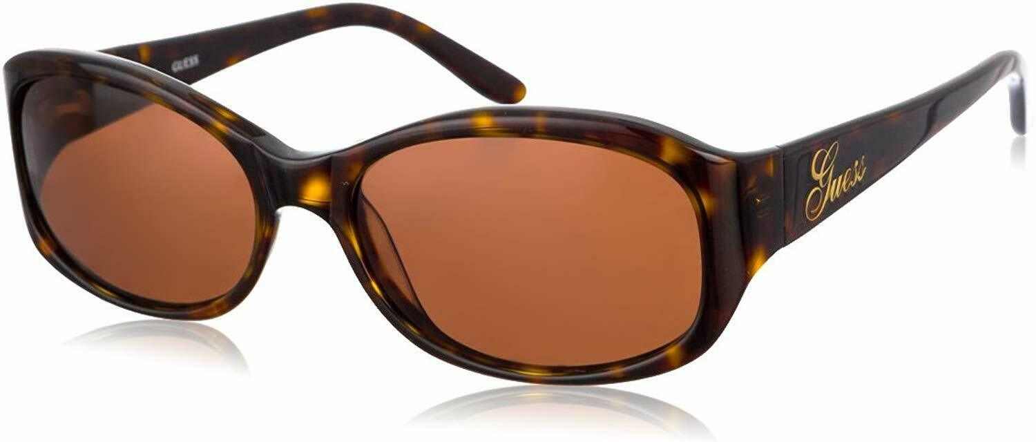 Authentic GUESS GU6404-TO-1-54-15 Women's Sunglasses Oval Tortoiseshell BROWN