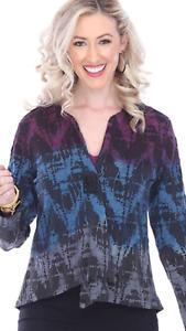 NEW Parsley&Sage Plus Marielle Jacket Blazer Fancy Button Top Fall Winter 2X