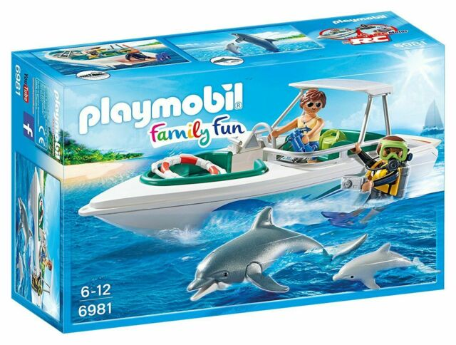 Playmobil 6981 Diving Trip with Speedboat