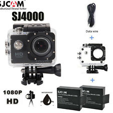 "2"" 170 Degree Full HD 1080P Sport DV Action Camera Waterproof for SJCAM SJ4000"