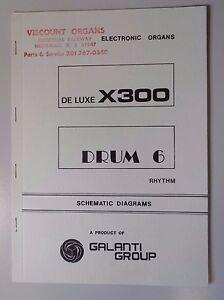 Original Galanti de luxe tambour 6 Orgue électronique schémas-afficher le titre d`origine nXgL07z7-08124935-688973812