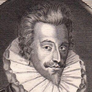 Portrait-XVIIIe-Anne-de-Joyeuse-Baron-d-039-Arques-Grand-Amiral-de-France-Languedoc