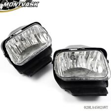 Fit For 03 06 Chevy Silverado Avalanche Bumper Fog Lights Lamps Leftright Fits More Than One Vehicle
