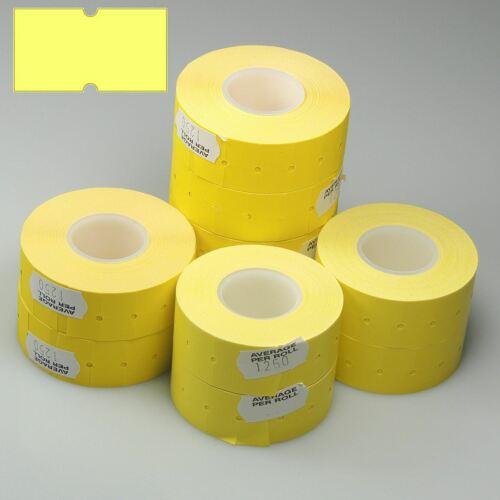 Lynx amarillo Etiquetas para Puma PJH6 & PJH8 CT1 40 Rollo