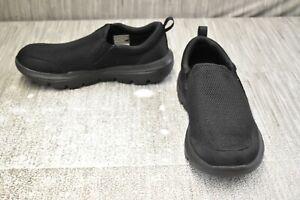 Skechers-Go-Walk-Evolution-Ultra-Impeccable-Athletic-Shoe-Men-039-s-Size-9-5-Black