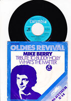 """7"""" Mike Berry - Tribute to Buddy Holly ----"""