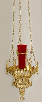 + Nice Gothic Sanctuary Lamp for your church + Beautiful + chalice co. +