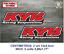 Sticker-Vinilo-Decal-Vinyl-Aufkleber-Adesivi-Autocollant-KYB-Racing-Suspensions miniatura 6