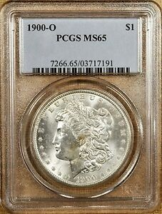 1900-O-VAM-15A-PCGS-MS65-Morgan-Dollar-Doubled-Stars-amp-Clashed-Obverse