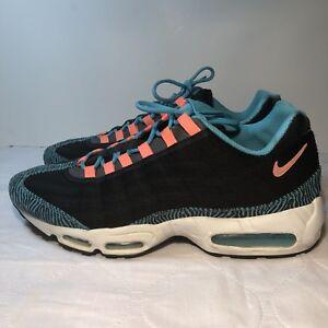28554f4804 Nike Air Max 95 Premium Tape Mens US Sz 13 Black/Pink-Gamma Blue ...