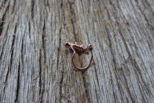 Silver Nose Ring Gold Nose Stud Christma Cadeau Fête L Forme Nez Stud Nez Bijoux