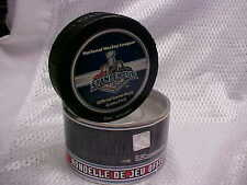 2006 NHL Stanley Cup Final Game Five Puck Carolina Hurricanes v Edmonton Oilers