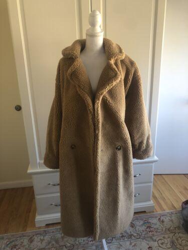 Teddy Bear Coat Women, Excellent Condition