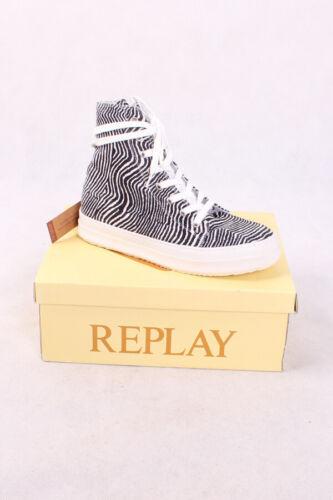 Replay rz360005s Perfect 0062 Whiteblack Chaussures Femmes