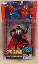 Spider-Man Classics Black Costume With Missile Launching Glider Marvel Legends