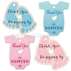 This is a picture of Modest Baby Gift Tags