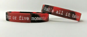 Marvel-039-s-Deadpool-Silicone-Athletic-Wristband-039-Four-or-five-moments-039