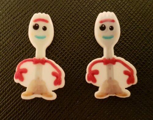 2 X Toy Story 3 Dorky Planar résine dos plat résine Flatback cheveux Disney Pixar