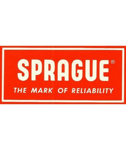 1uF 25v Sprague Axial Electrolytic Capacitor TE1200 105/'c 30D Mini  Audio 5pcs
