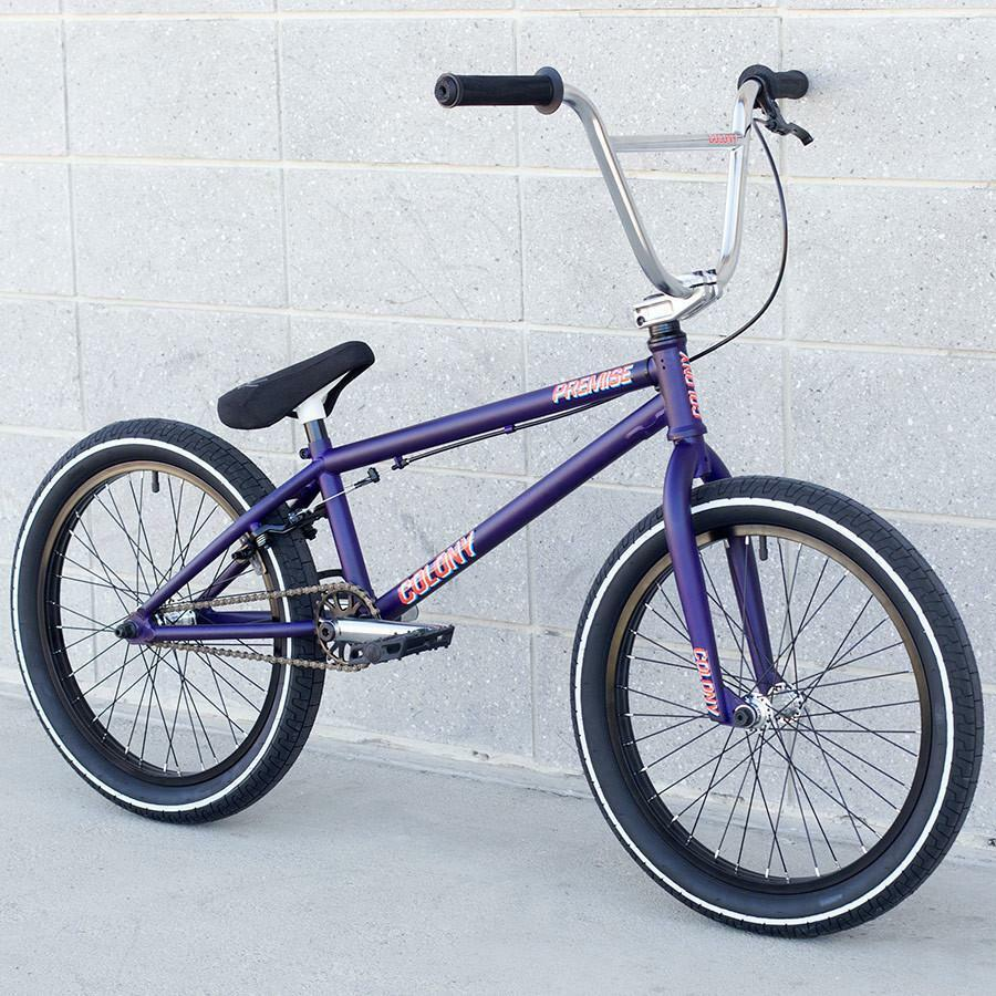 2018 COLONY BMX PREMISE 20  BICYCLE MATTE PURPLE SUNDAY HARO KINK FIT CULT