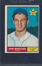 1961 Topps #466 Ron Moeller Angels VG/EX 61T466-22116-2
