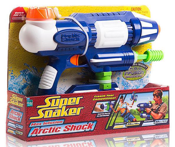 Nueva Marca Nerf Super Madurador Arctic Shock Agua Pistola Blaster