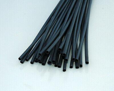 "3M 1//8/"" Black Heat Shrink Tubing 4 ft."