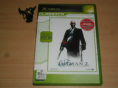 Hitman 2 Silent Assassin Xbox Pal Format Complete Ebay
