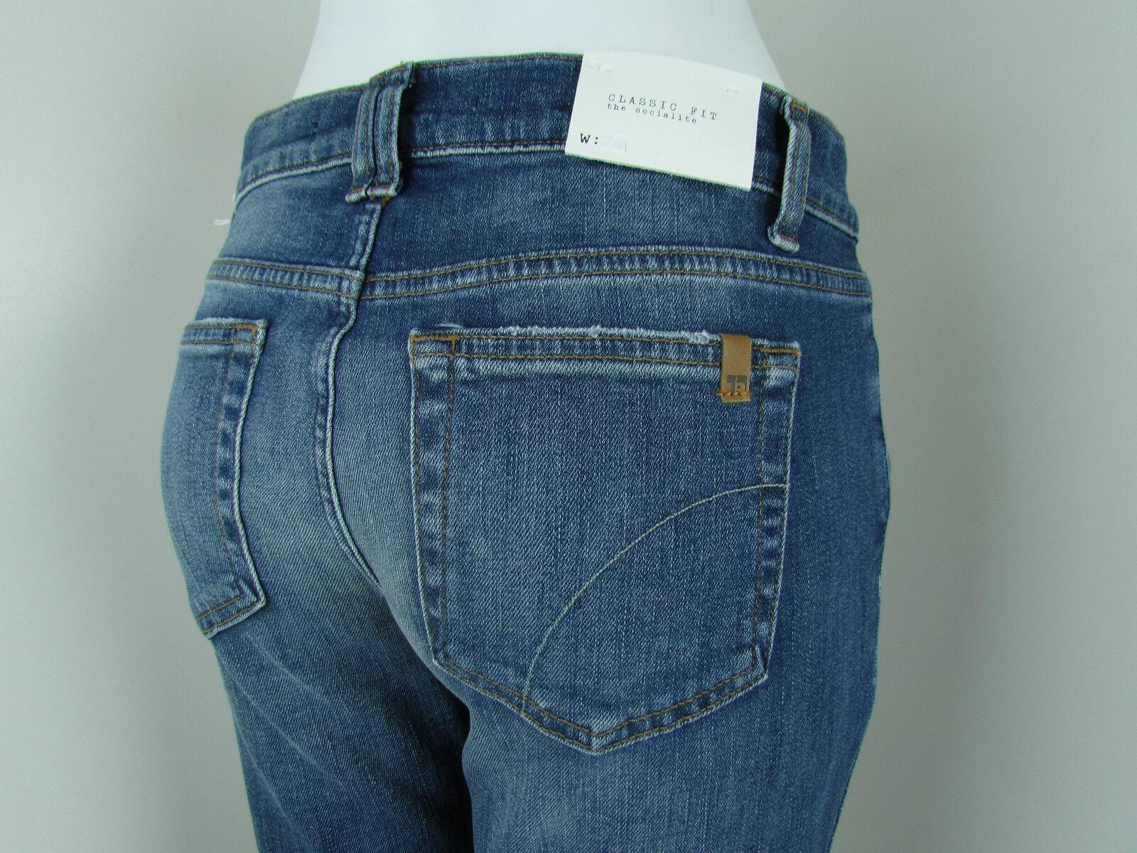 JOE'S Jeans SOCIALITE Classic FIT BOOTCUT Women SZ 28 IN MEDIUM blueE MILLICENT