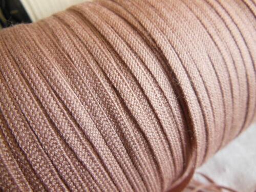 biais vintage ruban plat cordon fin rose buvard lacet corsage 10 mètre
