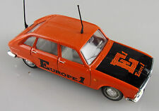 série presse 1/43e: Renault 16 berline Europe 1 orange sans boite