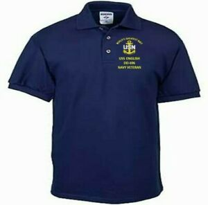 USS-ENGLISH-DD-696-NAVY-ANCHOR-EMBROIDERED-LIGHT-WEIGHT-POLO-SHIRT
