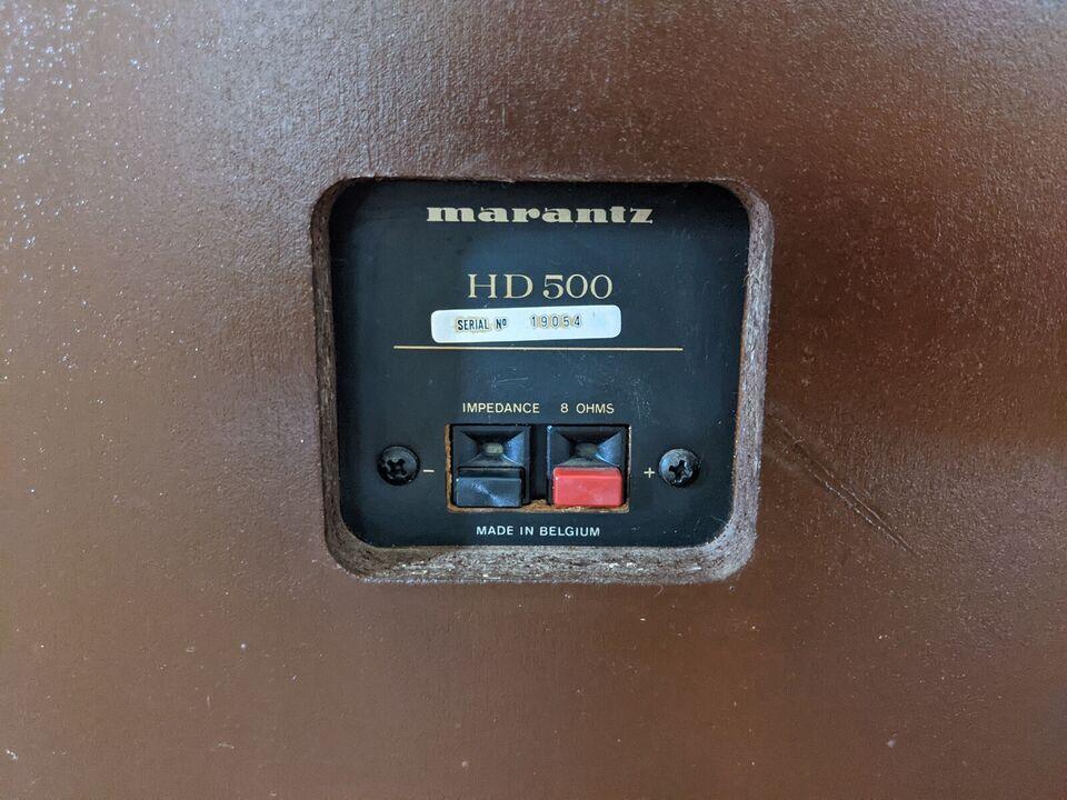 Højttaler, Marantz, HD 500