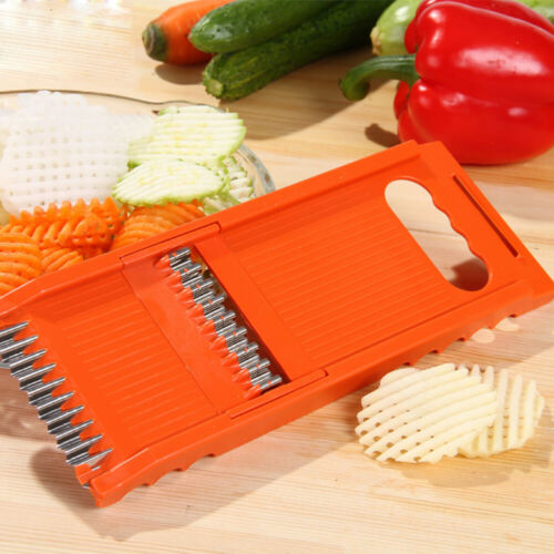 6 in 1 Vegetable Fruit Slicer Cutter Stainless Steel Blade Multifunction t