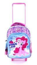 NUOVO My Little Pony Trolley Borsa da Viaggio Zaino Pinkie Pie Vacanza Ragazze Borsa